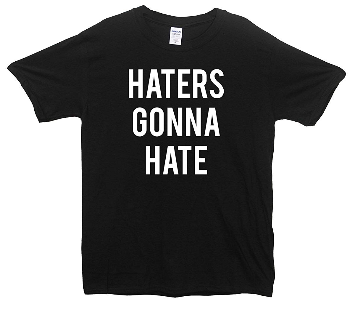 Fuck haters hands down hate liars and image by wesley