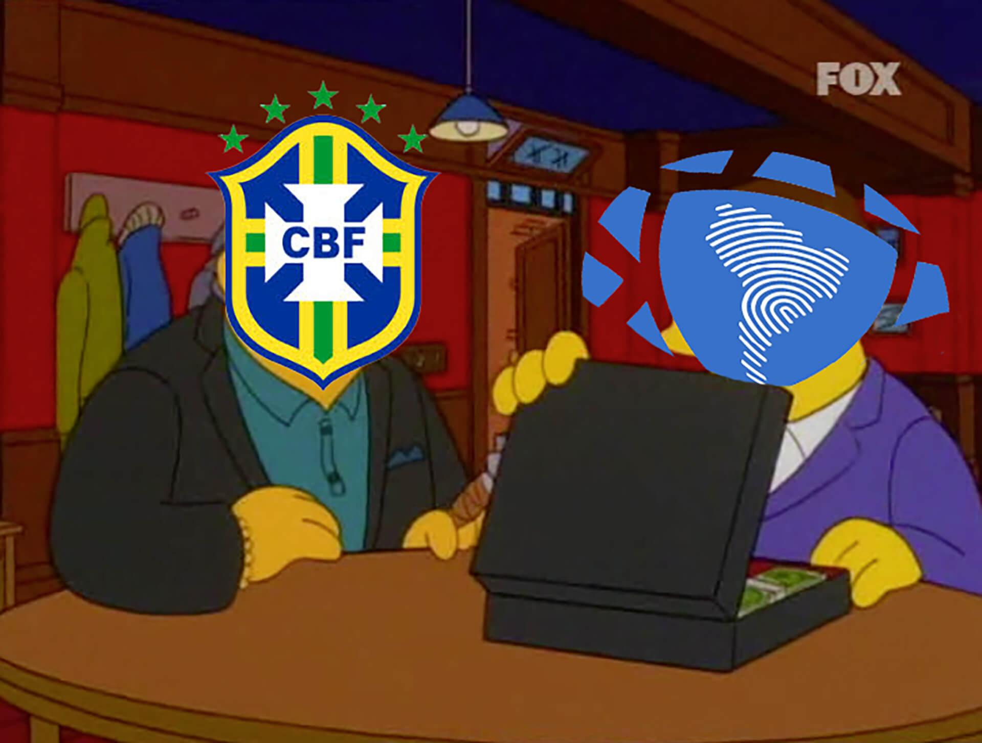 Las cosas claras entre Brasil y la Confederación.
