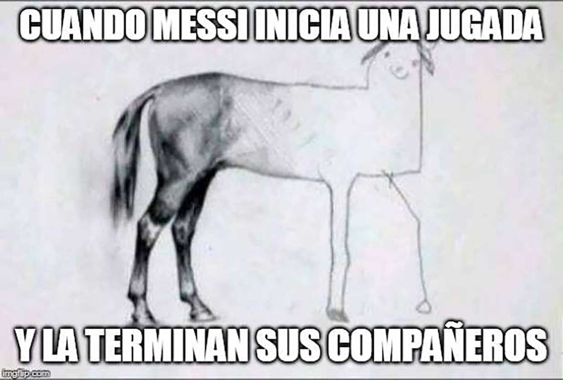 Los hinchas no estuvieron conformes con la actuación de los compañeros de Messi.