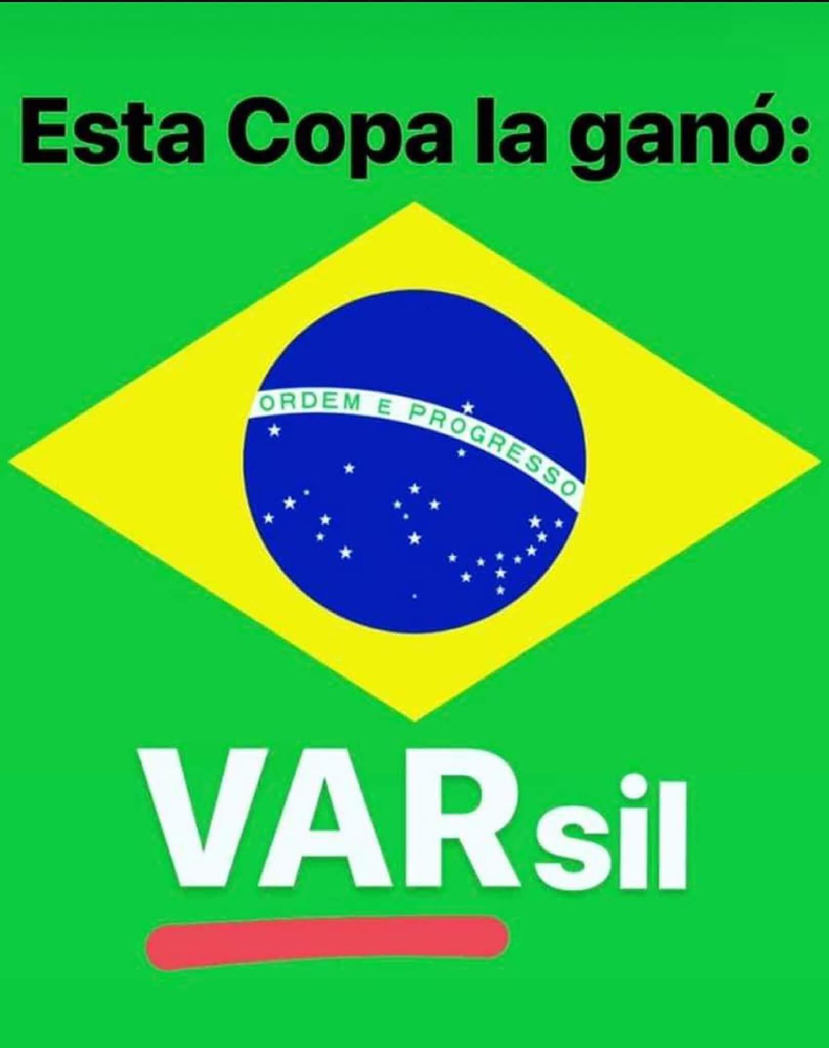 El mejor nombre de la Copa: VARSIL.