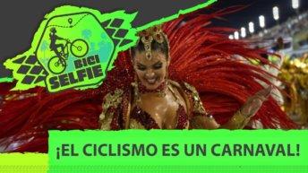 mujer rumbera bailando carnaval en ibarreta