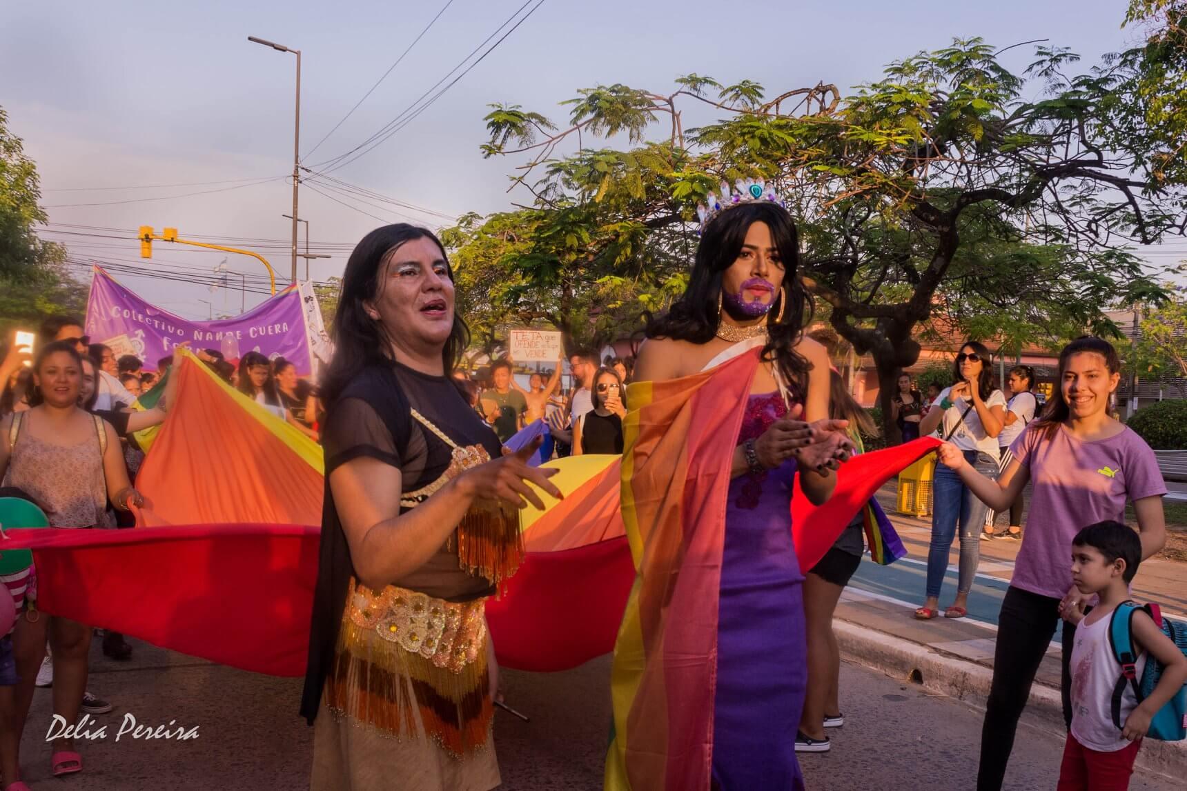 Marcha del Orgullo en la Ciudad de Formosa