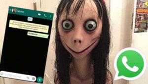 'Momo', un 'challenge' macabro que se difundió a través de grupos de Whatsapp y Facebook.
